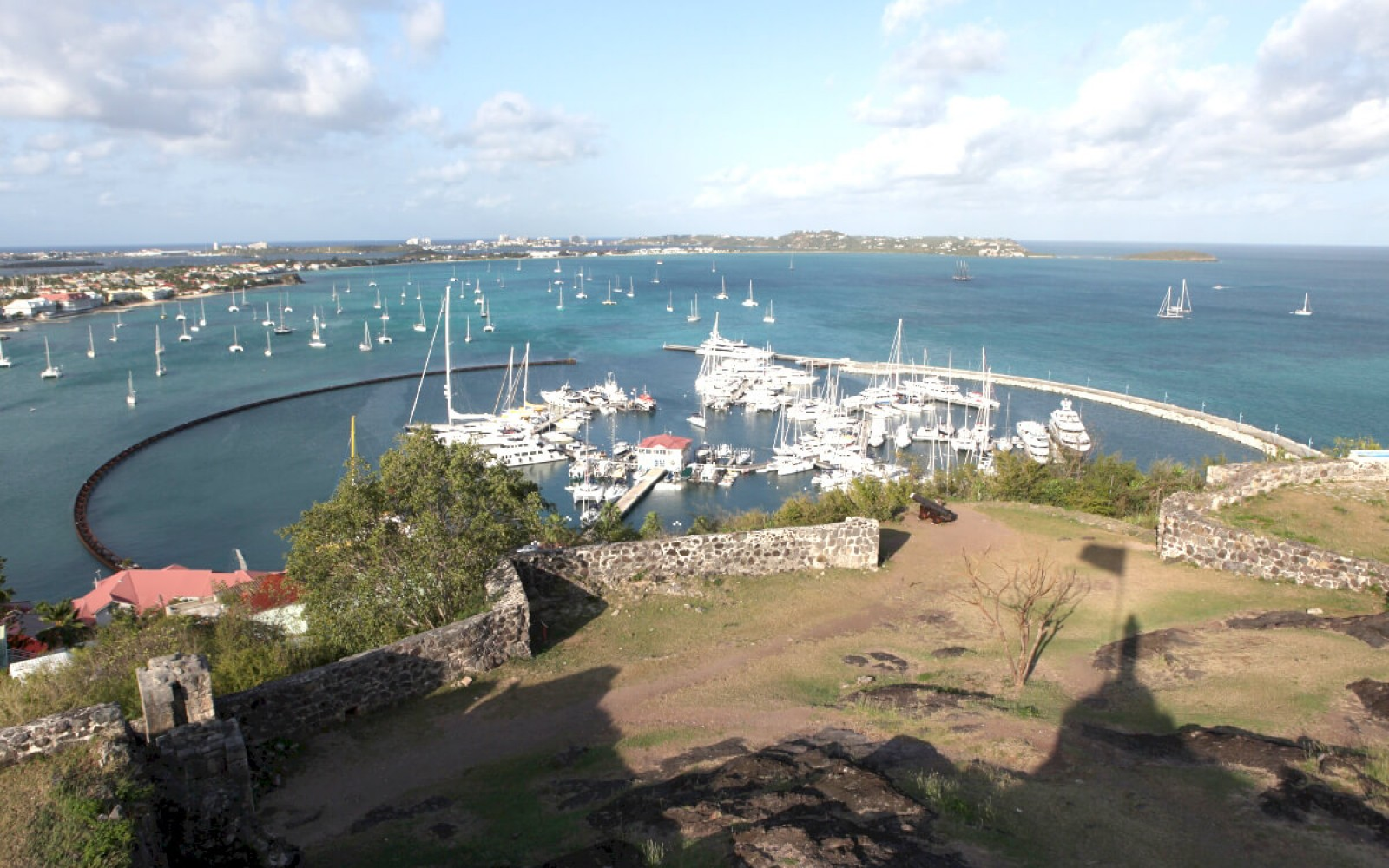 View from Fort Louis