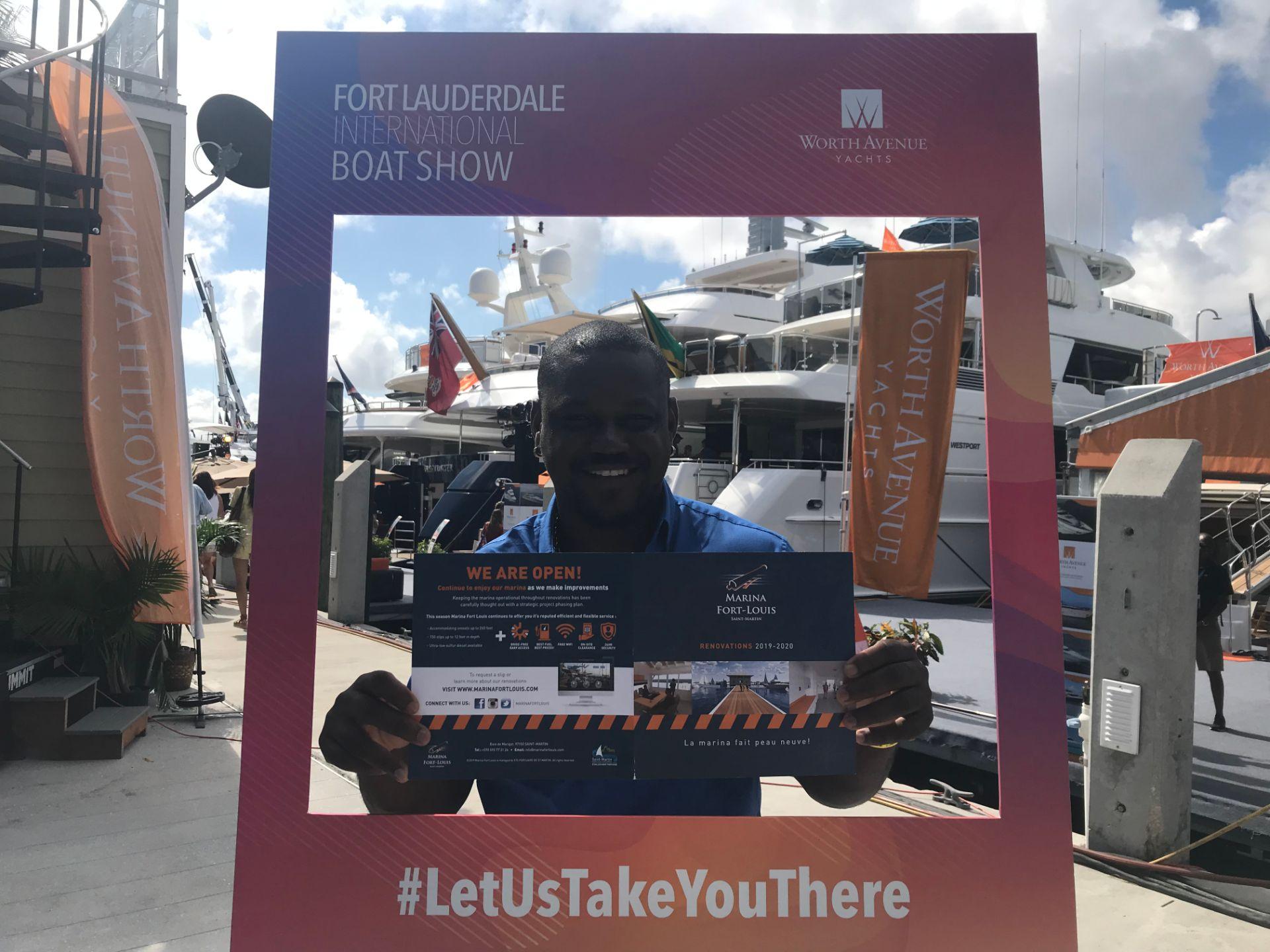La Boat Show 2020.Marina S Team At Flibs Marina Fort Louis